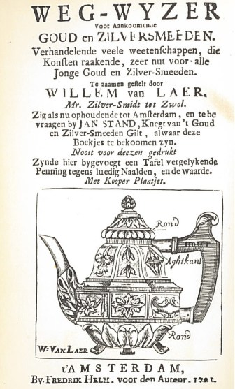 Fig-2: Title page from Willem van Laar's Guidebook.