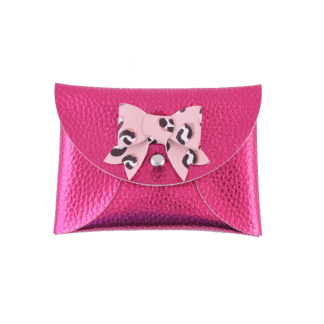Hot pink mini purse