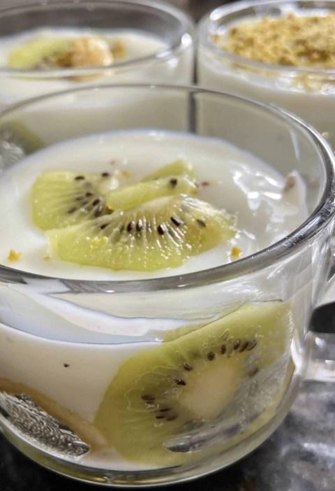 fruity milk pudding