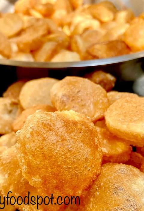 Popular Indian street food recipe