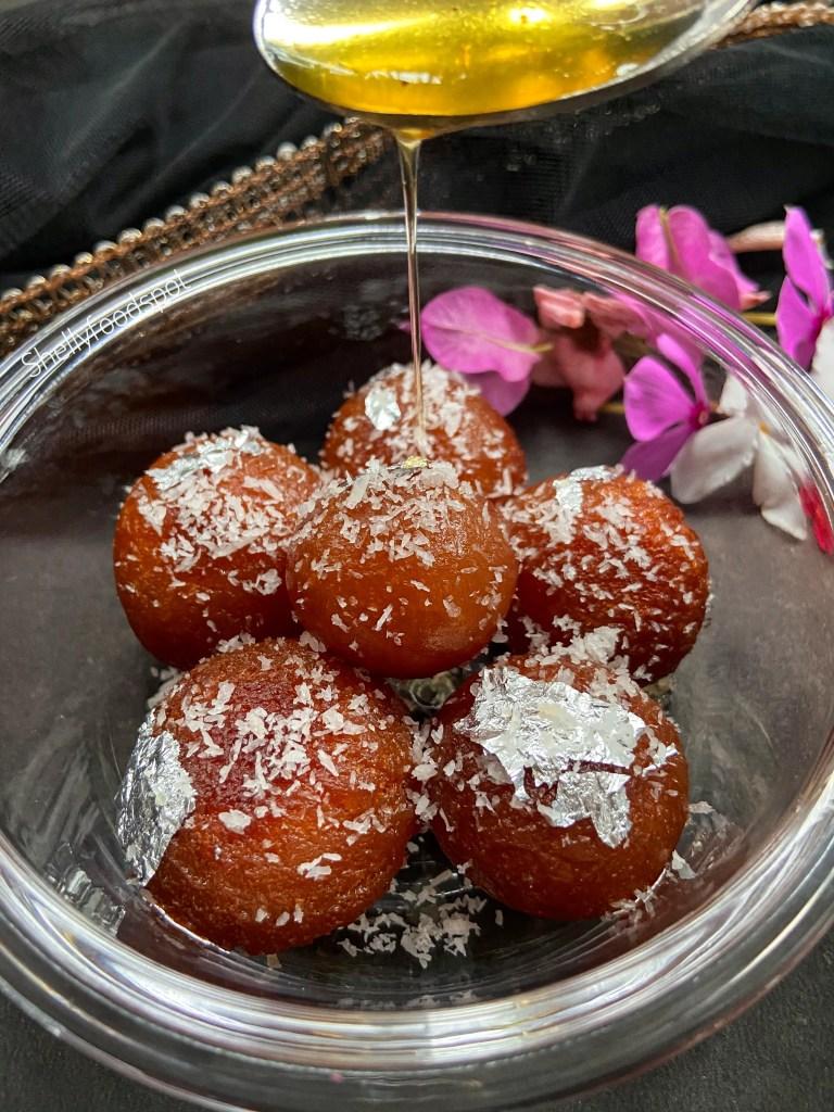 Gulab jamun recipe with milk powder diwali sweets