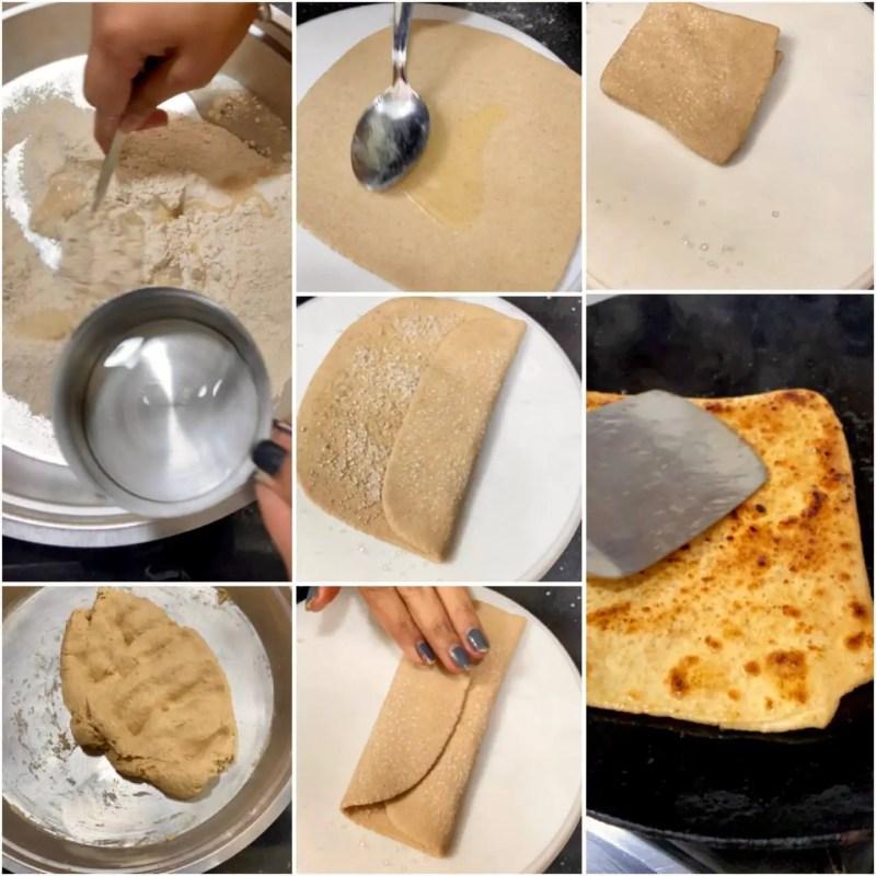 Cheeni paratha|cheeni ka paratha recipe 2