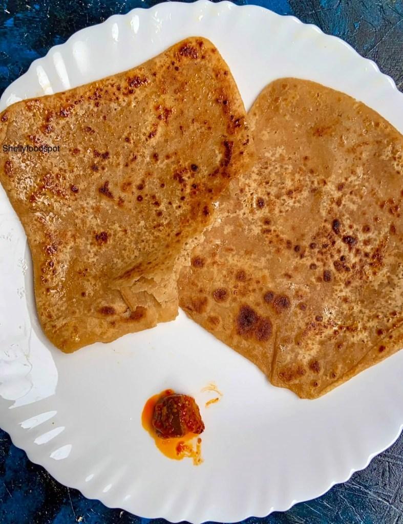 Cheeni paratha cheeni ka paratha recipe