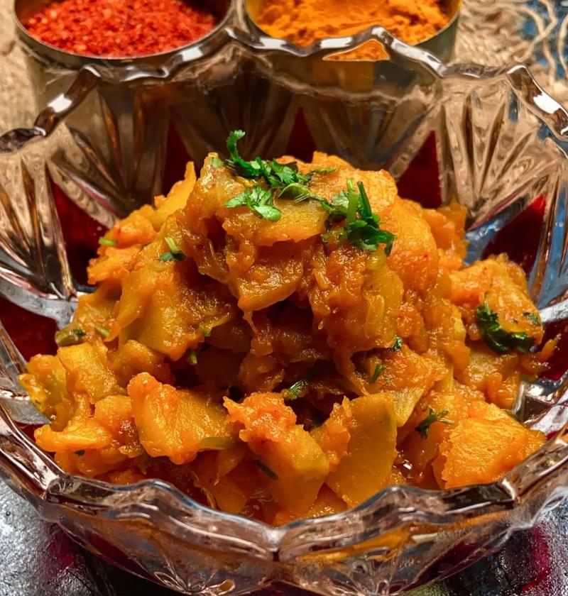 Kaddu sabzi|petha sabji recipe