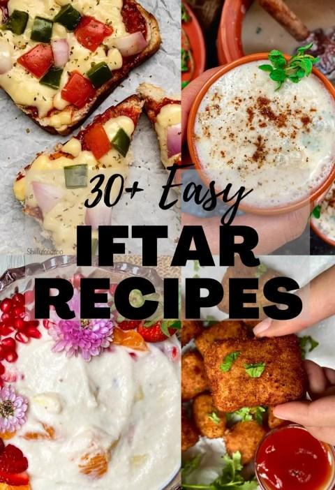 30+ Ramadan recipes for iftar| Easy recipes for iftar