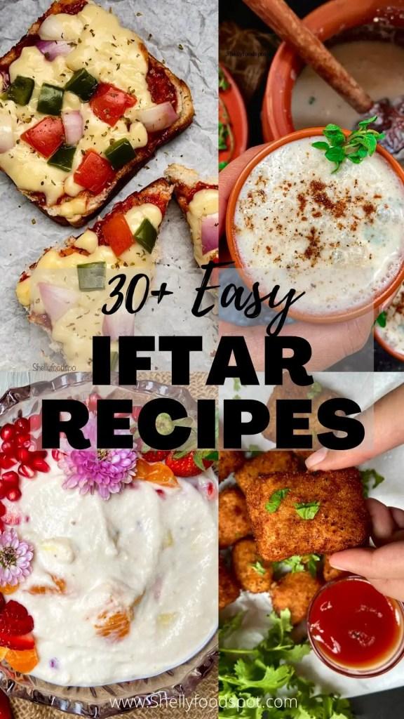 30+ Ramadan recipes for iftar  Easy recipes for iftar