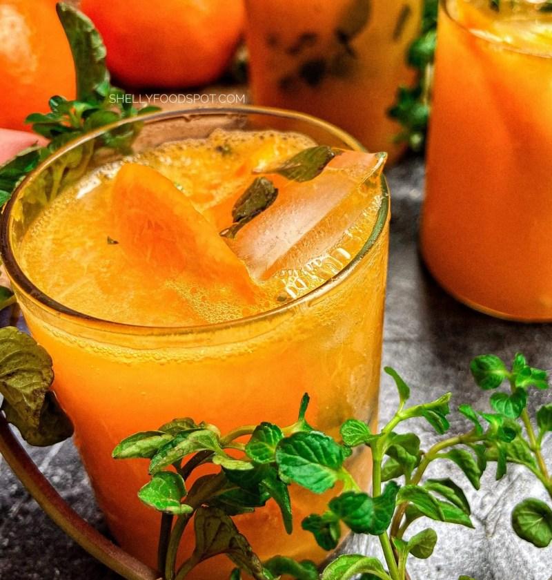 How to make orange mojito|non alcoholic orange mojito