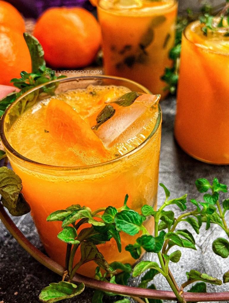 How to make orange mojito non alcoholic orange mojito