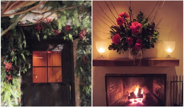 Warm and welcoming Christmas Decor inside and out