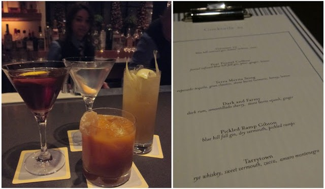 All of our seasonal cocktails from Blue Hill