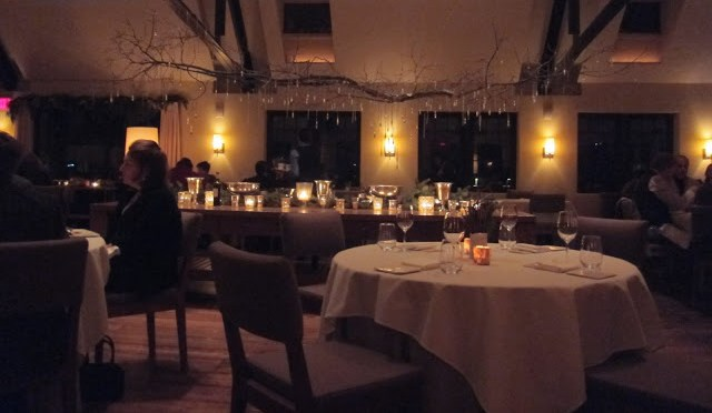 The restaurant looks like it held about 15-20 parties at one time, and the booths we sat on were the most comfortable!