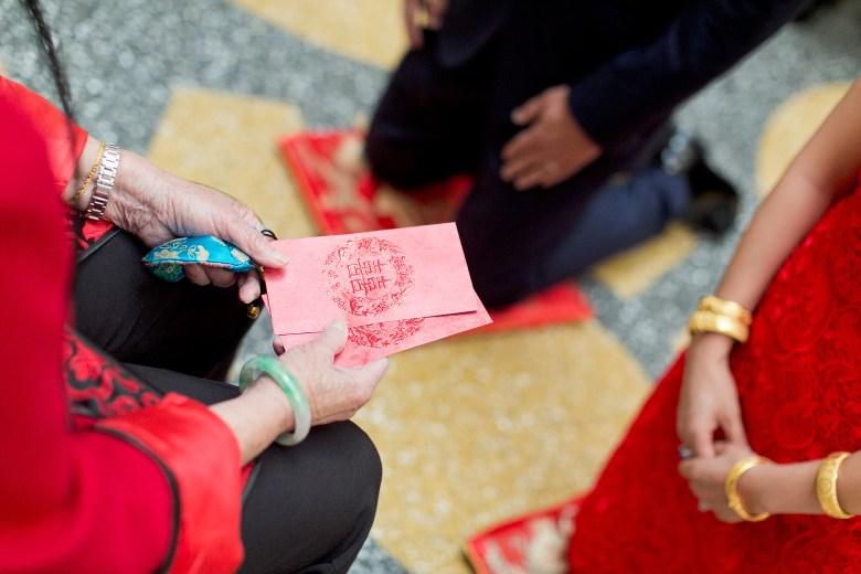 tea ceremony envelopes