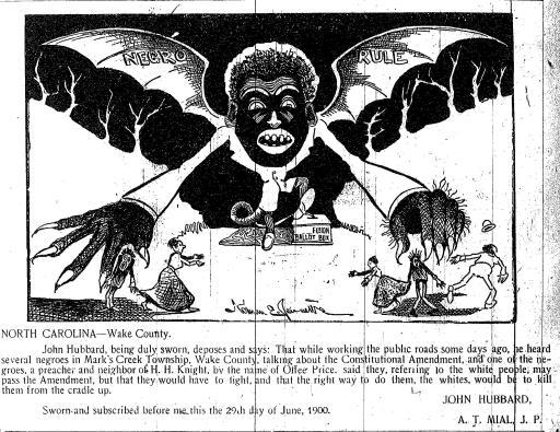 negro rule propaganda
