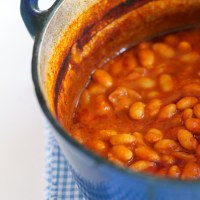 White Bean & Tomato Soup