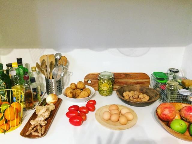 Organizing my humble kitchen #kitchen #produce #shellyshumblekitchen