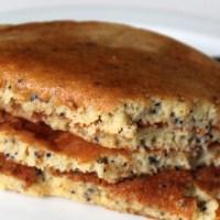 Gluten-Free & Dairy-Free Lemon Poppy Pancakes