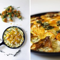 Rosti with Zucchini & Golden Beets