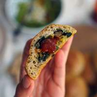 Gluten-Free & Grain-Free Buns Stuffed with Vegetables