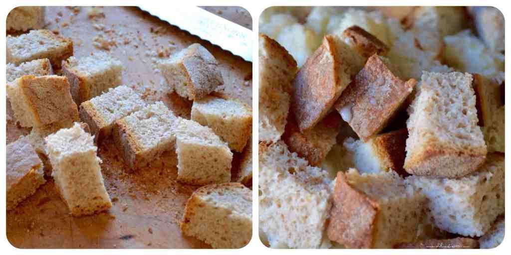 Apple Pear Bread Pudding