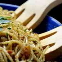 Saint Josephs Day Spaghetti Recipe