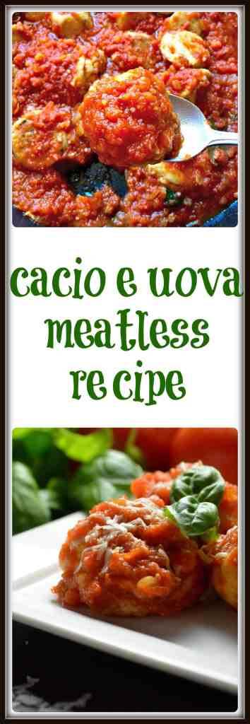 Cacio e Uova Meatless Recipe #SundaySupper