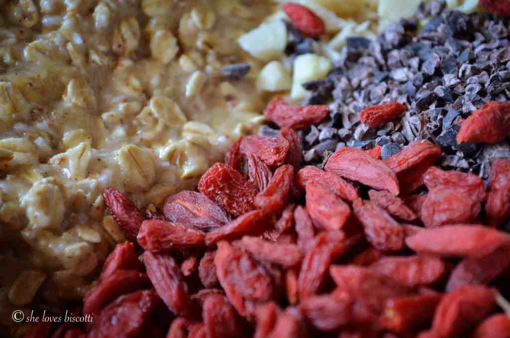 One Bite Addictive Trail Mix Banana Cookies
