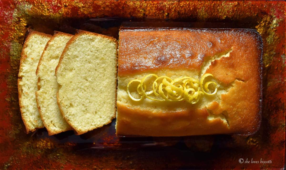 Extra Moist Lemony Lemon Loaf