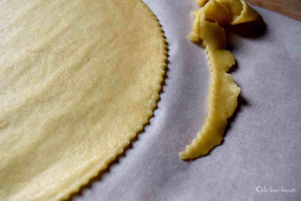 Homemade Chocolate Hazelnut Filled Crescent Cookies