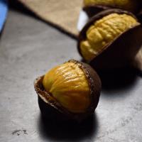 A few perfectly roasted chestnut.