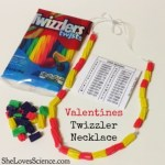 Learn Binary Code with a Valentines Twizzler Necklace