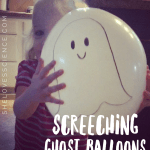 Screeching Ghost Balloons