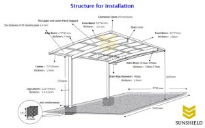 Carport Installation DIY Aluminum Carport  Sunshield