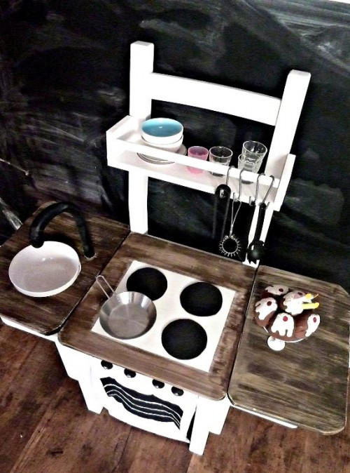Amazing Diy Kitchen For Your Kids