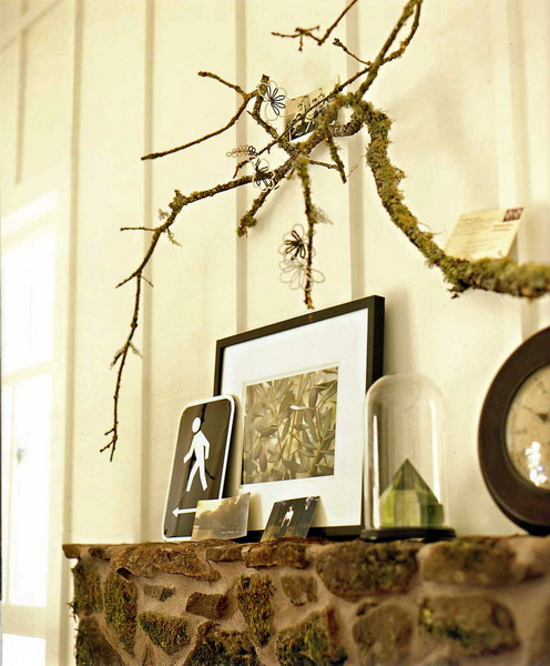 18 Ways to Decorate with Hanging Branches - The Finishing Touch