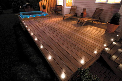 wood patio ideas