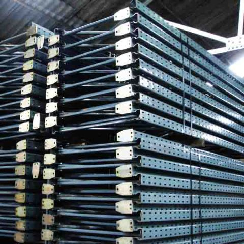 Used Dexion pallet racking frame