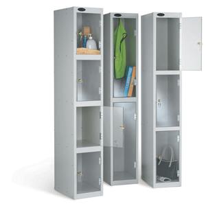 Clear Door Warehouse Locker