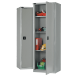 Slim industrial cupboard