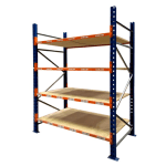 Used PSS warehouse longspan shelving, Used Longspan Shelving Frame, Used Longspan Shelving Level, Used PSS longspan shelving, warehouse racking, hand loaded