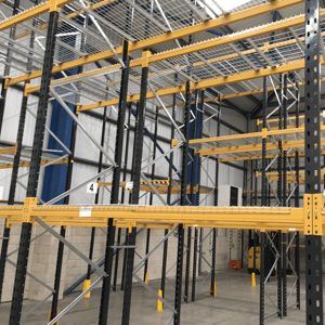 Used pallet racking installations