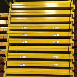 Used pallet racking offer