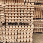 12 levels used timber decking for pallet racking - open boarded - 2700mm x 1100mm