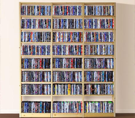 dvd bookcase plans