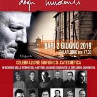Diretta da Bari: Sinfonia La sofferenza degli innocenti di Kiko Arguello