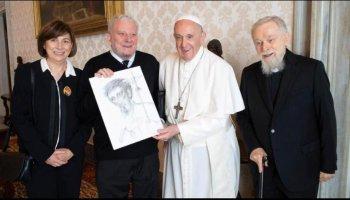 papa francesco kiko arguello cammino neocatecumenale ufficiale