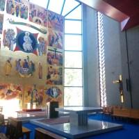 Seminario Redemptoris Mater di Roma - Il grande affresco