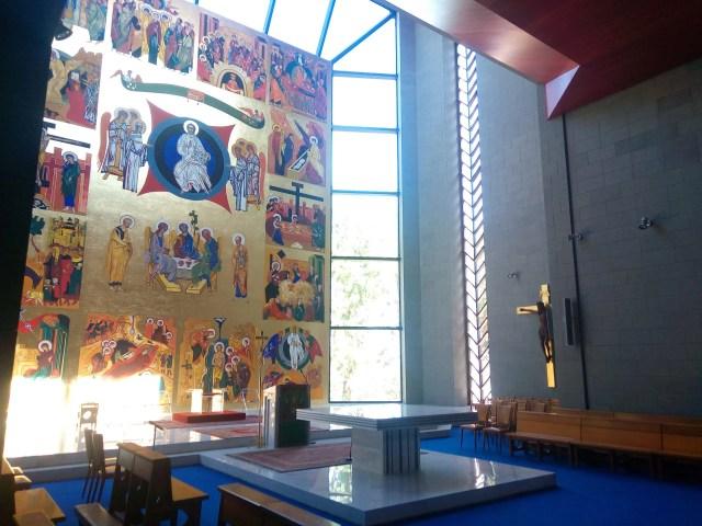 seminario redemptoris mater di roma affresco
