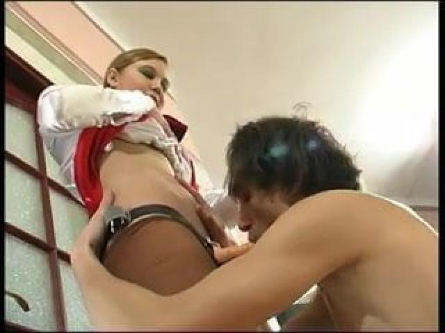 Marcelyn Video Femdom Bdsm Russian Strapon Slut Shemale Blonde Russia