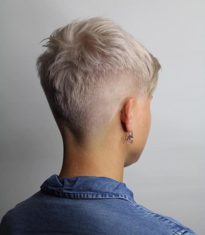 elegant fade haircut for women   shemazing!