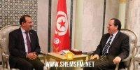 الجهيناوى يلتقي سفيري السعودية واليونان